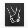 Małgorzata Markiewicz, Hand in Hand, 2016, 60 x 50 x 10cm