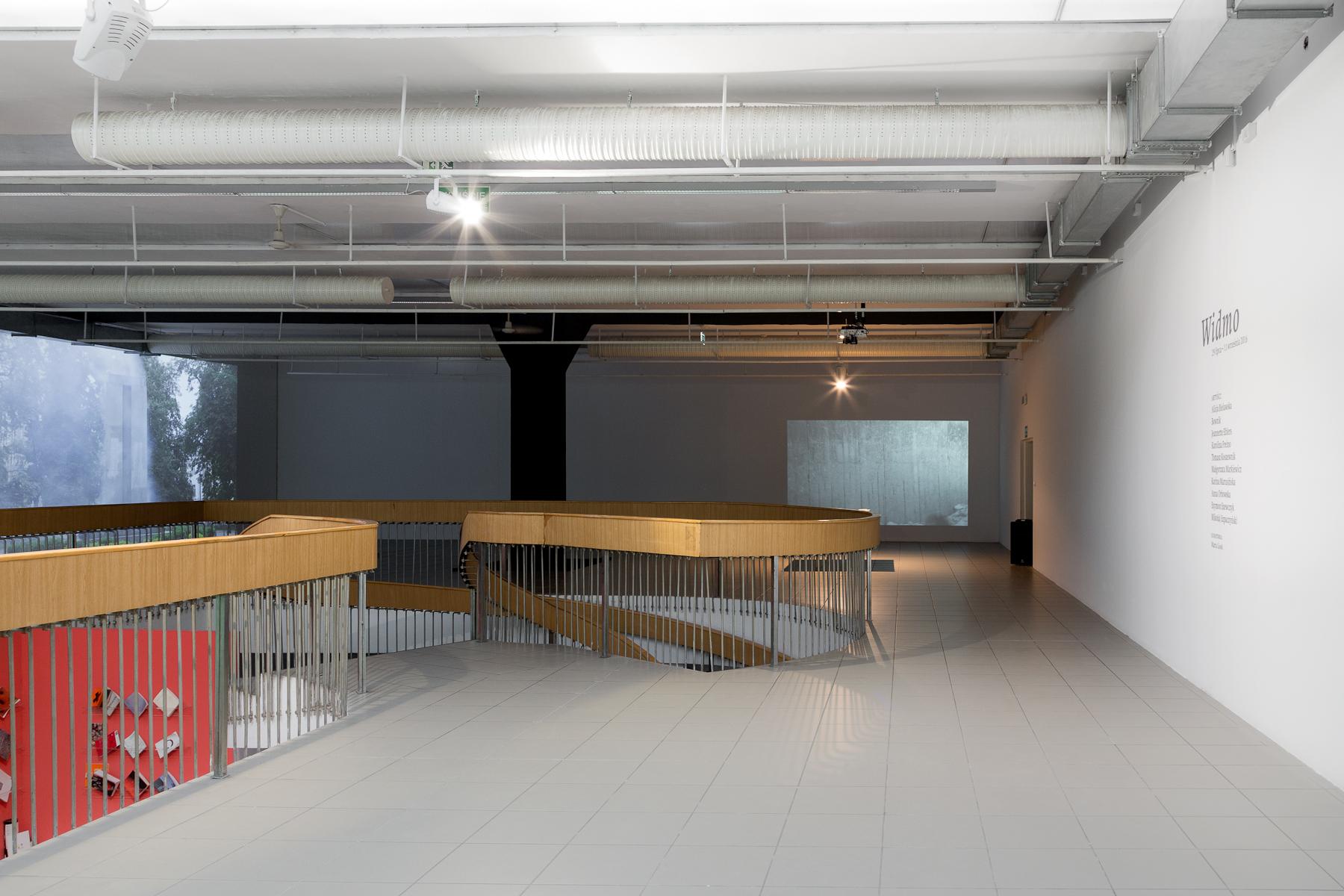 Installation view, Małgorzata Markiewicz, part of 'Spectrum', BWA Gallery, Katowice, Poland