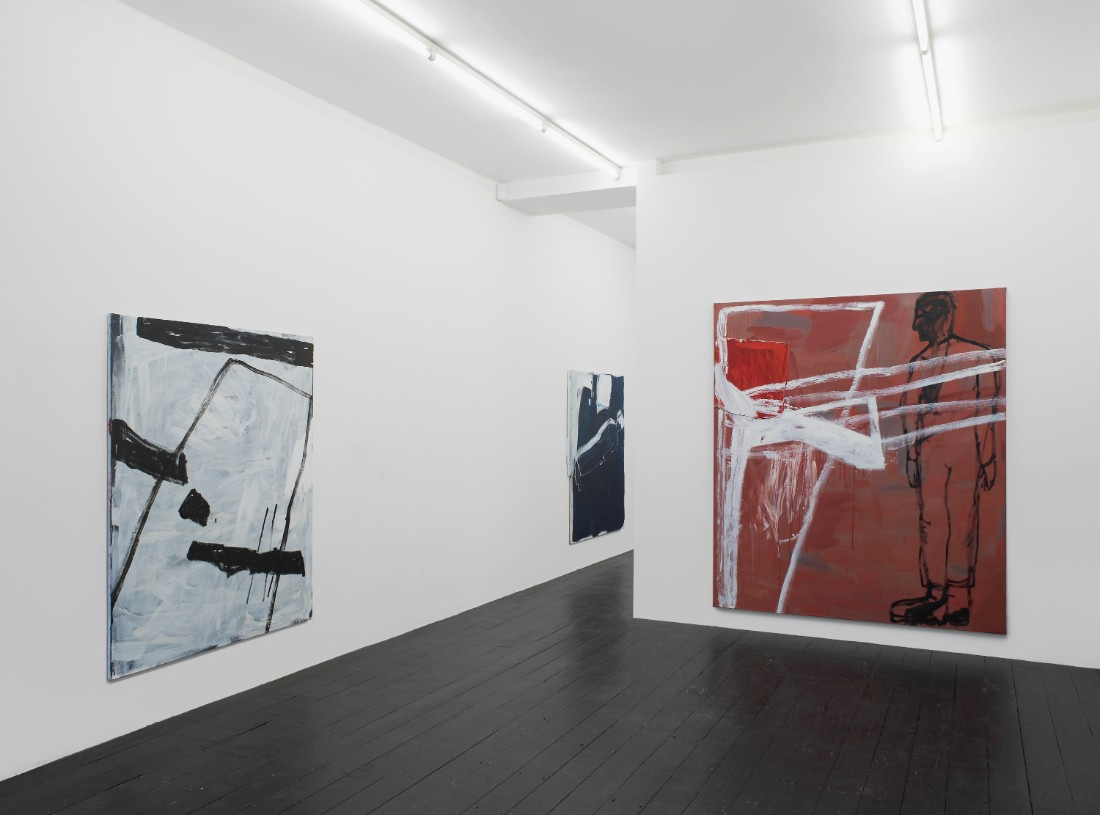 Installation view: Marek Szczesny, l'etrangere, 2015