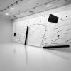 Marek Szczęsny, 'The Rupture', 2016, acrylic on paper, 280 x 1200 cm, installation view