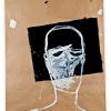 Marek Szczęsny, Emigrant #3, 2010 Acrylic on paper, plastic 160 x 120 cm