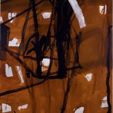 Marek Szczęsny, Untitled, 2015, oil on canvas, 220 x 170 cm