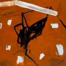 Marek Szczęsny, Untitled, 2012, oil on canvas, wood, 190 x 170 cm