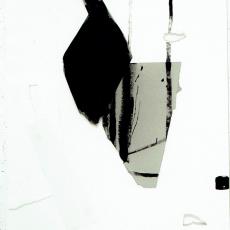 Marek Szczęsny, Untitled, 2008, Acrylic on paper, 90x75cm