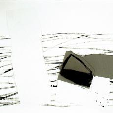 Marek Szczęsny, Untitled, 2009, Acrylic on paper 75x110cm