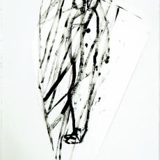 Marek Szczęsny, Untitled, 2009, Acrylic paper, 105x75cm