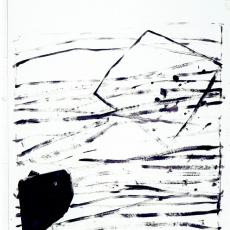 Marek Szczęsny, Untitled, 2010, Acrylic on paper, 105x75cm