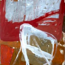 Marek Szczęsny, Untitled, 2013, oil on canvas, wood, 230x180cm