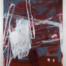 Marek Szczęsny, Untitled, 2017, oil on canvas, 220x170cm