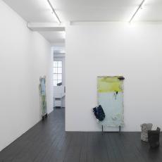 Contact Zone, Exhibition view, l'etrangere, 2017, Marie Jeschke, Anja Langer, Istvan Szabo