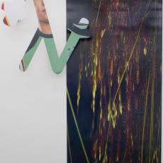 Marie Jeschke, Kieshofer Moor, Always (Mark 2), 2015, Unique analogue print on aluminium, 140x110x15cm