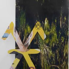 Marie Jeschke, Kieshofer Moor, Always (Mark 4), 2015, Unique analogue print on aluminium, 145x102x15cm