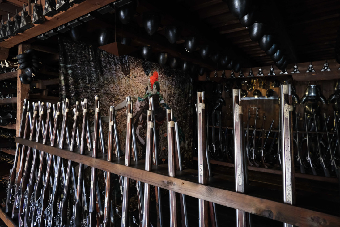 Małgorzata Markiewicz<br />Medusa<br />2020<br /> installation view Landeszeughaus, Gratz