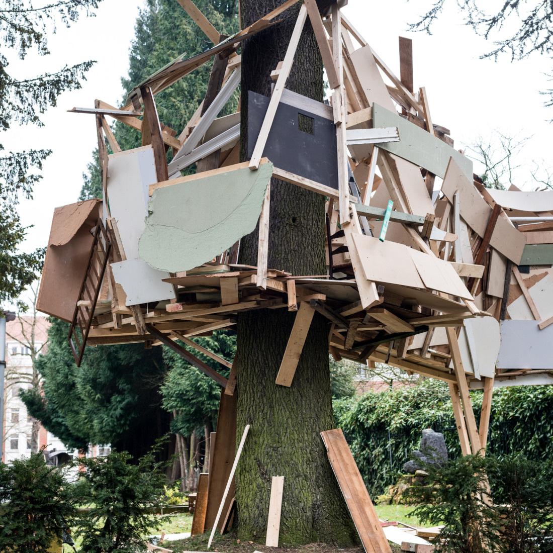 Tatiana Wolska, Melancholia, installation view, 2018, Boghossian Foundation, Brussels