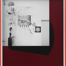 Filip Berendt<br />Monomyth 11<br />2015-2016<br />Archival pigment print on dibond acrylic paint MDF<br />52×58cm