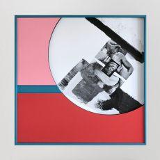 Filip-Berendt<br />Monomyth II<br />2017<br />archival pigment print on dibond acrylic paint, MDF<br />60x60cm