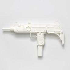 Joanna Rajkowska<br />Uzi Submachine Gun (from the series Painkillers I)<br />2014<br />Powdered analgesic, polyurethane resin, life-size cast<br />64 x 47 x 10 cm
