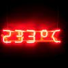 Joanna Rajkowska,  '233ºC', neon, 2016