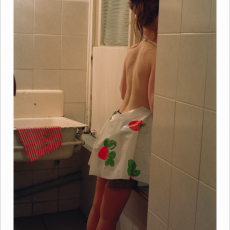 Małgorzata Markiewicz<br />Pinafores<br />2002<br />photograph<br />34x49cm