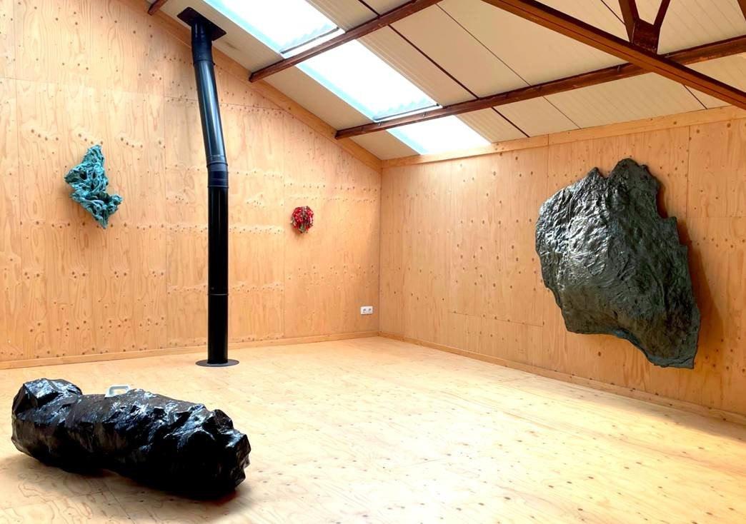 Jan Eric Visser<br />Plastikos, installation view at VierVaart. Ph. Iris Cornelis