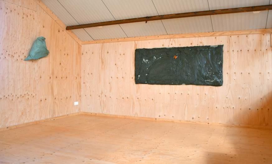 Jan Eric Visser<br />Plastikos, installation view at VierVaart. Ph. Jan Eric Visser
