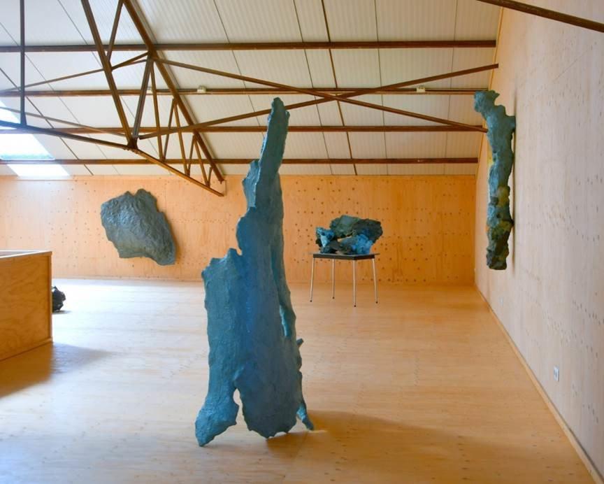 Jan Eric Visser<br />Plastikos, installation view at VierVaart. Ph. Jetty Keuning