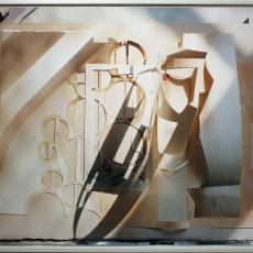 Anita Witek<br />Reset (#3 /S.O.S)<br />2016<br />C-Type print<br />122 x 150 cm, (framed)