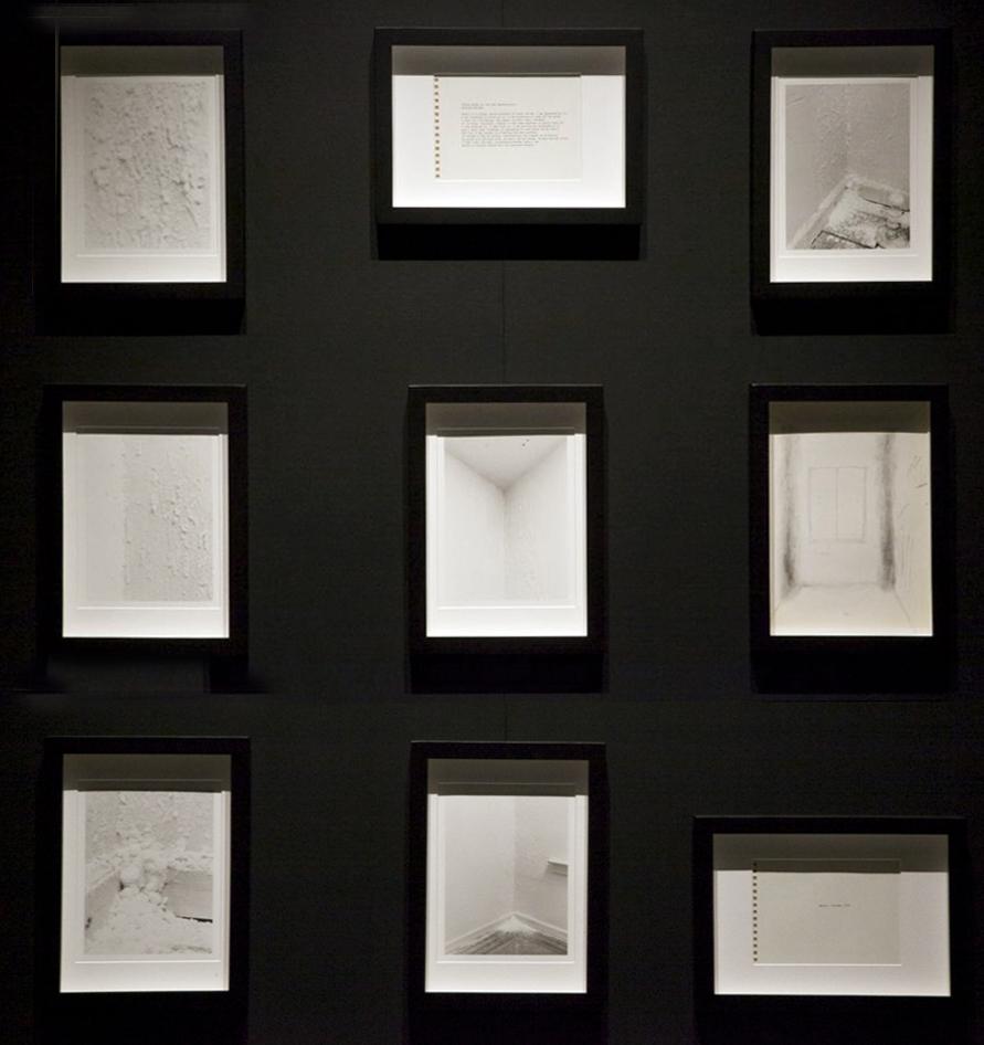 Salt Room, framed photographs