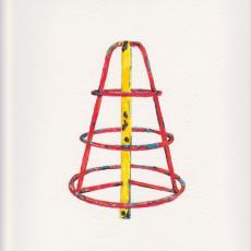 Shaun C. Badham, 'Frame Drawing 2', 2014, 230gsm , Acid free paper, 27 x 19.5cm