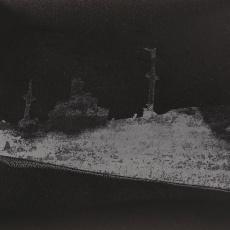 Untitled, 2015,Stencil on sandpaper