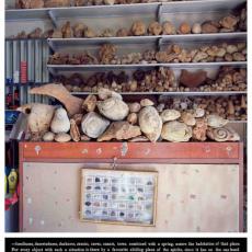 Joanna Rajkowska<br />Stones and Other Demons VII (JRSD07)<br />2019<br />Giclée on Hahnemühle German Etching<br />85 x 70 cm (88 x 73 cm framed)  Edition 1 of 5 + 2AP