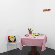 Su Richardson, installation view: 'Home Strike,' 2018, l'étrangère