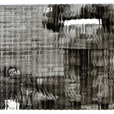 Joanna Rajkowska<br />Suiciders, Peshawar, 4.12.2007 |  Pakistan<br />digital print, mdf, wood, aluminium profiles