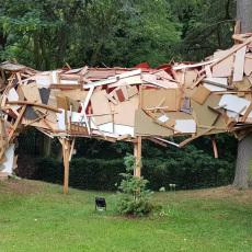Tatiana Wolska<br />Melancolia<br />2018<br />installation view at Villa Empain, Brussel