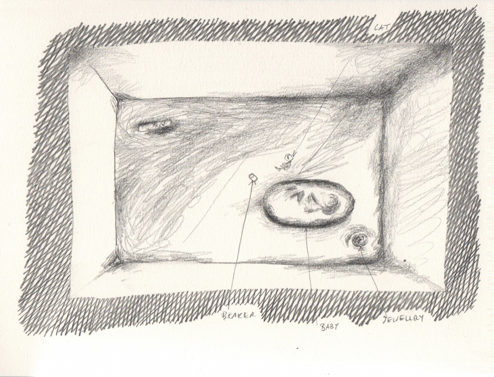 The Peterborough Child, Sketch