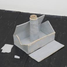 Małgorzata Markiewicz<br />Ugly House 3<br />2016<br />ceramic<br />16 x 23 x 17cm