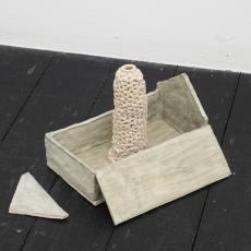 Małgorzata Markiewicz<br />Ugly House 2<br />2016<br />ceramic<br />16 x 23 x 17cm