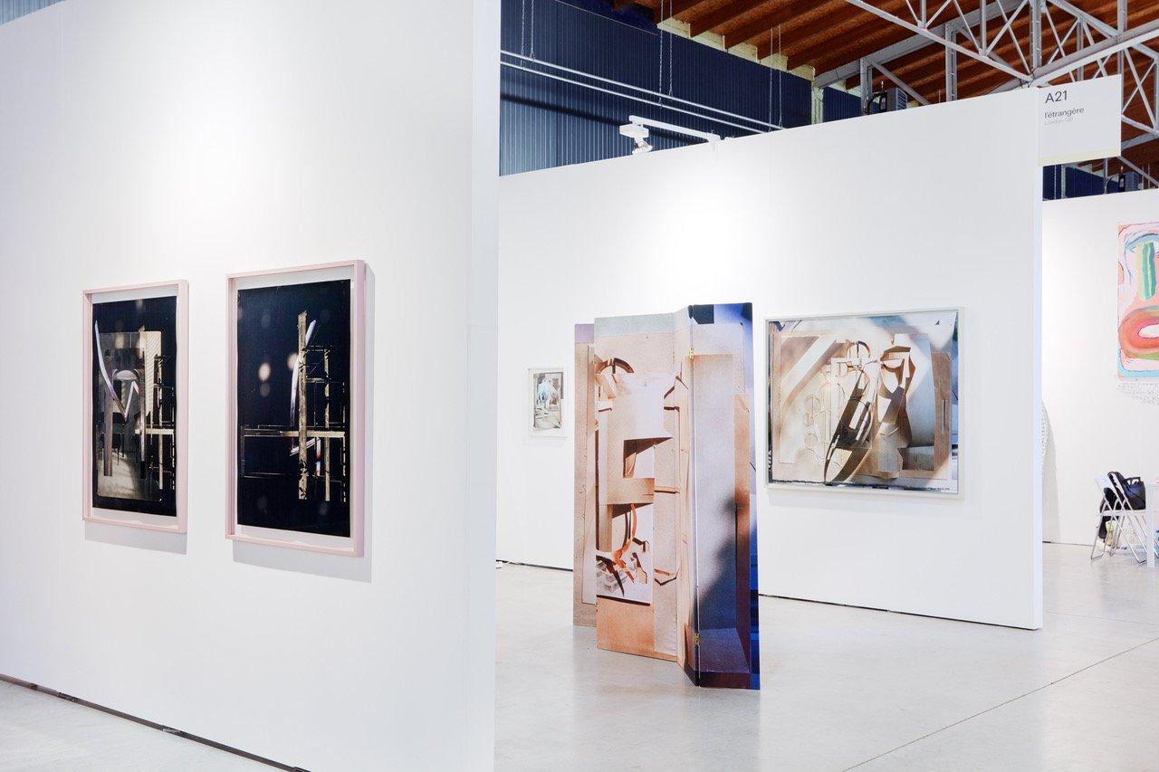 Anita Witek, Vienna Contemporary 2019, installation view