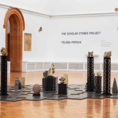 Yelena Popova<br />The Scholar Stones Project Curator- Zoe Watson<br />Holden Gallery, Manchester School of Art<br />UK 7 February – 27 March 2020