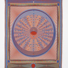 Yelena Popova<br />One neutron too many (U238>PU239)<br />2018<br />Jacquard woven tapestry<br />140x175cm, Edition of 2