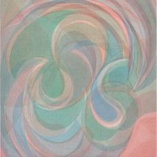 Yelena Popova<br />Sun Paths<br />2020<br />Distemper on canvas