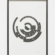 Yelena Popova<br />Townlets diagram<br />2018<br />Unique woodblock print on paper<br />55 x 38cm