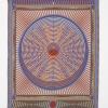 Yelena Popova, One neutron too many (U238>PU239), 2018, Jacquard woven tapestry, 140 x 175 cm,  phot. Andy Keate
