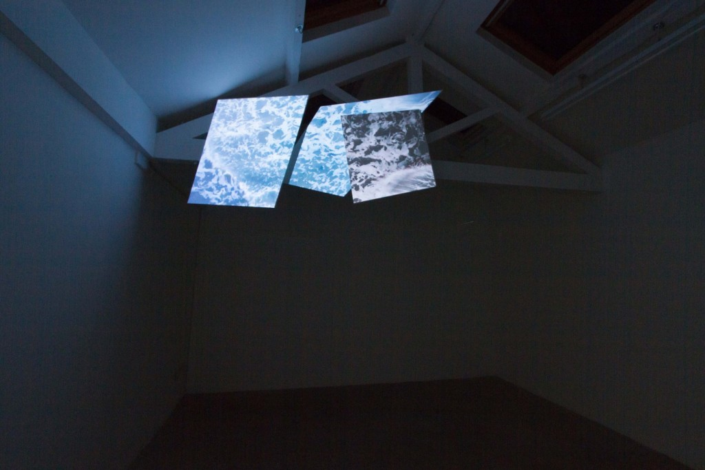 Sława Harasymowicz, installation shot of Radio On at Narrative Projects